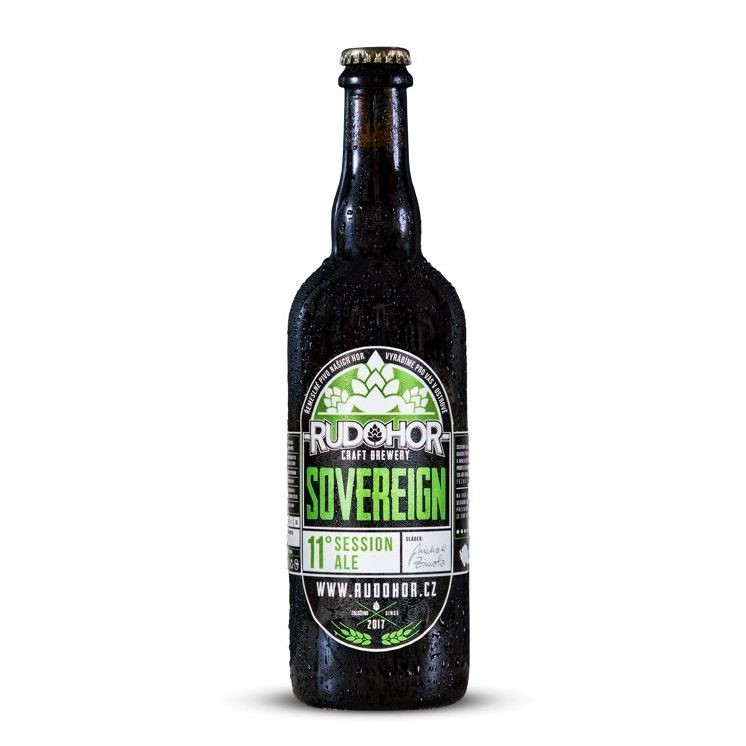 Rudohor_Sovereign 11° (0,75l sklo) Session Ale